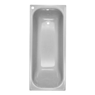 Badewanne Schmidlin-Norm 160 x 70 cm, Ablauf und Loch rechts,Loch für Mischer hinten