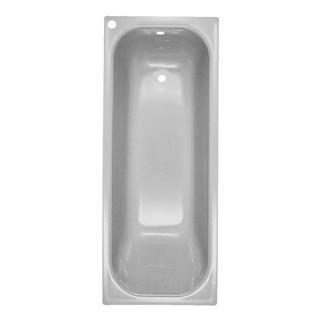 Badewanne Schmidlin-Norm 170 x 70 cm, Ablauf und Loch rechts. Loch für Mischer hinten