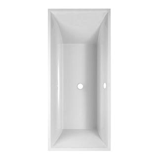 Badewanne Villeroy & Boch Squaro, 180 x 80 cm Badewannenfüsse Kunststoff Quaryl