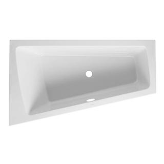 Eckbadewanne Duravit Paiova für Ecke links, Einbau 170 x 100/62 cm asymmetrisch, Acryl