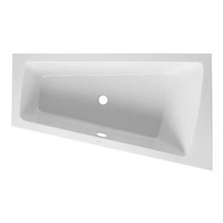 Eckbadewanne Duravit Paiova für Ecke rechts, Einbau 170 x 100/62 cm asymmetrisch, Acryl