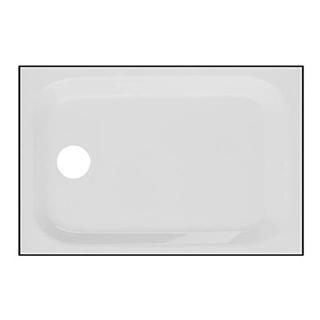Duschenwanne Schmidlin-Zargen 120 x 80 cm, Tiefe 6,5 cm Zargen an 4 Seiten Ablaufloch D....