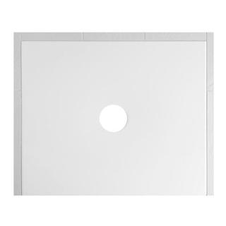 Duschenwanne Schmidlin Floor 90 x 70 x 2,5 cm Ablaufloch D. 90 mm Stahl