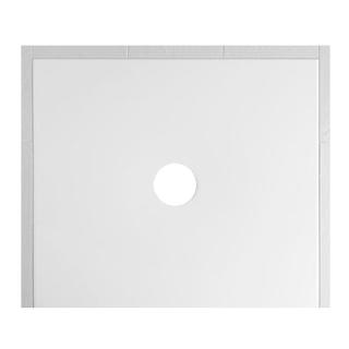 Duschenwanne Schmidlin Floor 90 x 75 x 2,5 cm Ablaufloch D. 90 mm Stahl