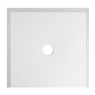 Duschenwanne Schmidlin Floor 100 x 100 x 2,5 cm Ablaufloch D. 90 mm Stahl