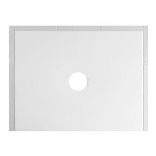 Duschenwanne Schmidlin Floor 100 x 80 x 2,5 cm Ablaufloch D. 90 mm Stahl