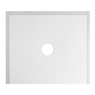 Duschenwanne Schmidlin Floor 100 x 90 x 2,5 cm Ablaufloch D. 90 mm Stahl