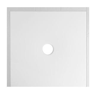 Duschenwanne Schmidlin Floor 120 x 120 x 2,5 cm Ablaufloch D. 90 mm Stahl