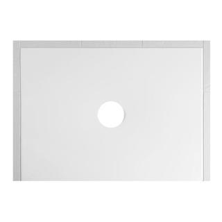 Duschenwanne Schmidlin Floor 140 x 80 x 2,5 cm Ablaufloch D. 90 mm Stahl