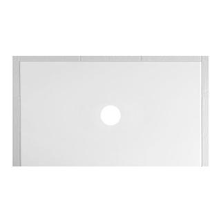 Duschenwanne Schmidlin Floor 150 x 90 x 2,5 cm Ablaufloch D. 90 mm Stahl