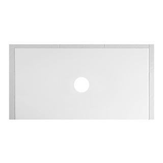 Duschenwanne Schmidlin Floor 160 x 90 x 2,5 cm Ablaufloch D. 90 mm Stahl