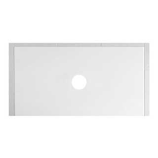 Duschenwanne Schmidlin Floor 170 x 80 x 2,5 cm Ablaufloch D. 90 mm Stahl