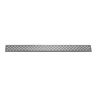 Rost Poresta Limit S, Design C 77 x 8 x 1,2 cm, Edelstahl zu Duschelem. 90 cm 1372 611 -...