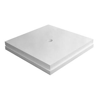 Unterbauelement Poresta 120 x 120 cm, Set mit Plattenstärken von 20, 30, 40 mm