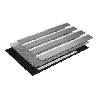Schallschutzset Poresta BEDS-Wabenkern 1 m2