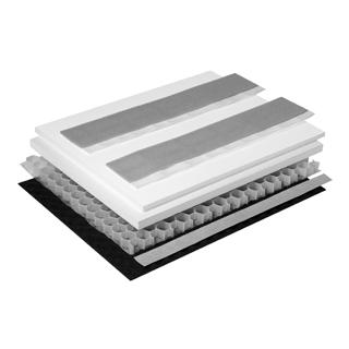 Schallschutzset Poresta BEDS-Wabenkern 0,5 m2 UBE Unterbauelement 600 x 800 x 20/30 mm