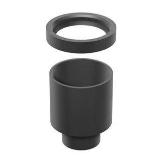 Ablaufadpater Schaco Ø 56 mm, Kunststoff PE zu Duschenrinnen Swissline