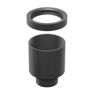 Ablaufadpater Schaco D. 80 x 63 mm, Kunststoff PE