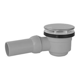 """Duschenwannengarnitur Poresta- Fix DF, 1 1/2"""", Tauchrohr Ablaufbogen D. 40/50 mm"""