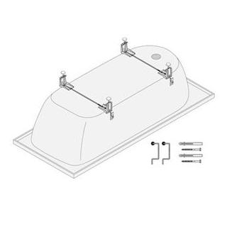 Badewannen Montageset Schmidlin, schallisoliert