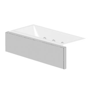 Verkleidungssystem Kaldewei MULTIVERSO, Längsteil Breite 196 cm, für Wannenbreite 180 cm