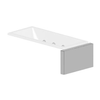 Verkleidungssystem Kaldewei MULTIVERSO, Seitenteil Breite 91 cm, für Wannenbreite 75 cm