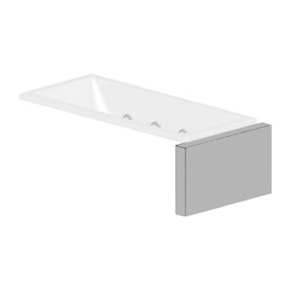 Verkleidungssystem Kaldewei MULTIVERSO, Seitenteil Breite 106 cm, für Wannenbreite 90 cm