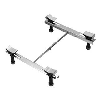 Badewannenfuss Mepa WS Höhe 17-26 cm verstellbar für Stahlbadewannen bis 180 x 80 cm