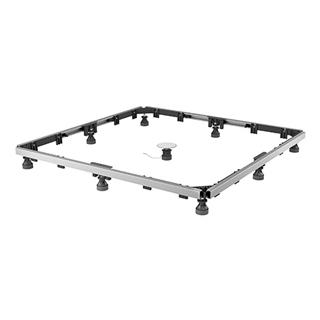 Montagerahmen MEPA SF für superflache Duschwannen rechteckig Stahl/Kunststoff