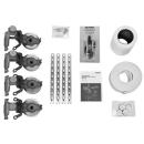 Schallschutz-Set Kaldewei BWS PLUS für Stahlbadewannen 2 Wannenanker 1 Fussgestell 5037
