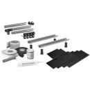 Schall-und Feuchtigkeitsschutz Montage-Set MEPA 3S WA Wannenfuss WA Höhe 11-19 cm