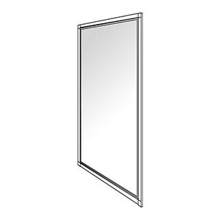 Seitenwand Duscholux Optima 300, Höhe 190 cm Breite 88 - 90 cm