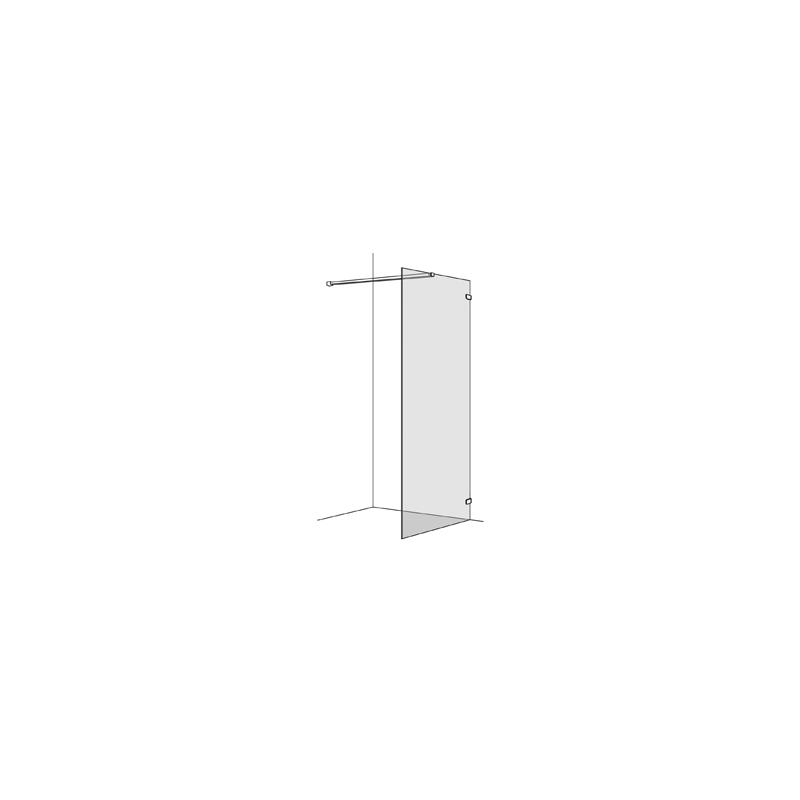 seitenwand koralle s505 freistehend h he 200 cm band rechts bre. Black Bedroom Furniture Sets. Home Design Ideas