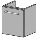 Waschtischmöbel Alterna pro S Breite 41 cm,...