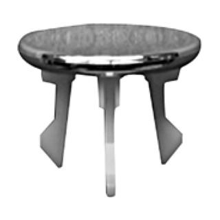 Ueberlaufclip Philippe Starck 1 für Waschtische