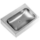 Waschtisch Franke Anima Confort, 70 x 51,5 cm 1 Becken, ohne Armaturenloch Siebventil 1 ...