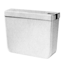 Spülkasten Geberit ungebohrt Wasseranschluss seitlich (wechselbar) Montage auf Klosett