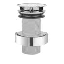 """Schaftventil Alape VT.2 1 1/4"""" für Stahlwaschtische ohne Überlauf, Haube D. 63 mm"""
