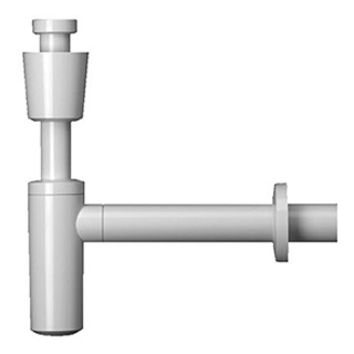 "Sifon Geberit 5/4"" x 40 mm Abgangsrohr 30 cm"