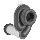 Absaugesifon Geberit waagrecht D. 40 mm zu Urinoir Casa/Fizz
