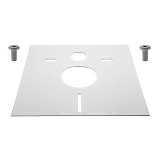 Schallschutz-SET HAFNER Wandklosett / Wandbidet 1 Schallschutzmatte 5 mm 2 Gummihülsen, ...