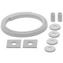Schallschutz ISO-SET HAFNER Waschtisch, 2 Gummihülsen 2 U-Scheiben, 2 Gummiunter- lagen,...