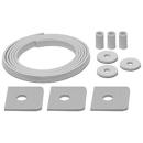 Schallschutz ISO-SET HAFNER Waschtisch, 3 Gummihülsen 3 U-Scheiben, 3 Gummiunter- lagen,...