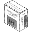 Spachtelmasse Geberit Beutel à 5 kg für Paneele