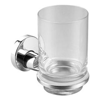 Glashalter Alterna rondo Klarglas zylindrisch