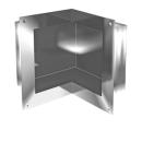 Wandnische IN-BOX, Typ E Breite 29 x 29 cm Höhe 26,5 cm, Tiefe 12 cm Befestigungsmaterial