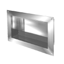 Wandnische IN-BOX Luna, Typ F Breite 63 cm, Höhe 33 cm Tiefe 12 cm, Edelstahl Befestigun...