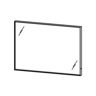lichtspiegel duravit l cube breite 100 cm h he 70 cm. Black Bedroom Furniture Sets. Home Design Ideas