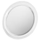 Kosmetikspiegel Euraspiegel rund, Ø 17 cm, mit Rahmen Vergrösserung 2-fach