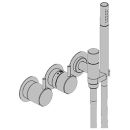 Duschenmischer-Endmontageset Vola 5000, Thermostat Betätigungsgriff, Handbrause Schlauch...